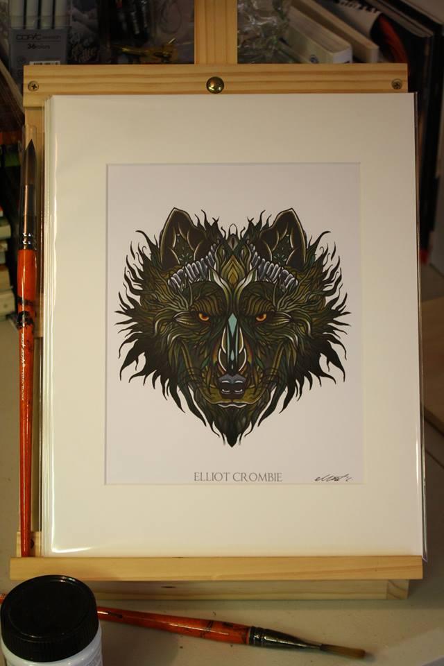 wolf p