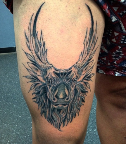 stag finished