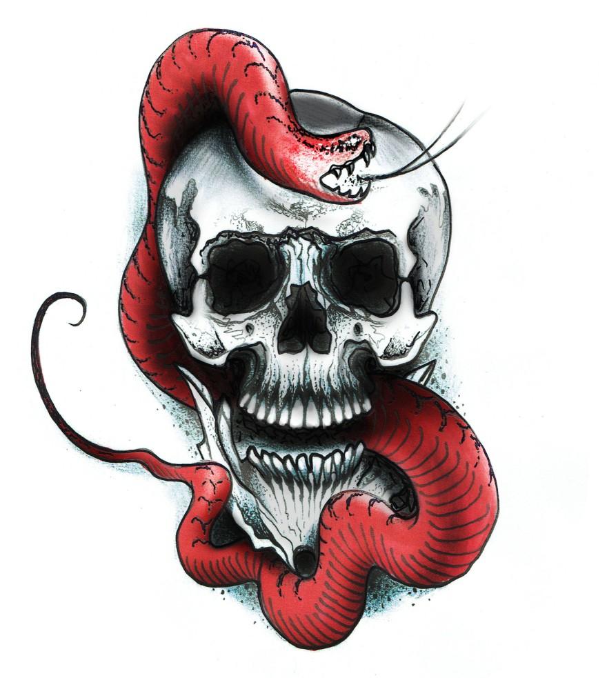 skull n snake rgb