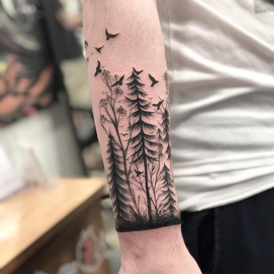tree armband